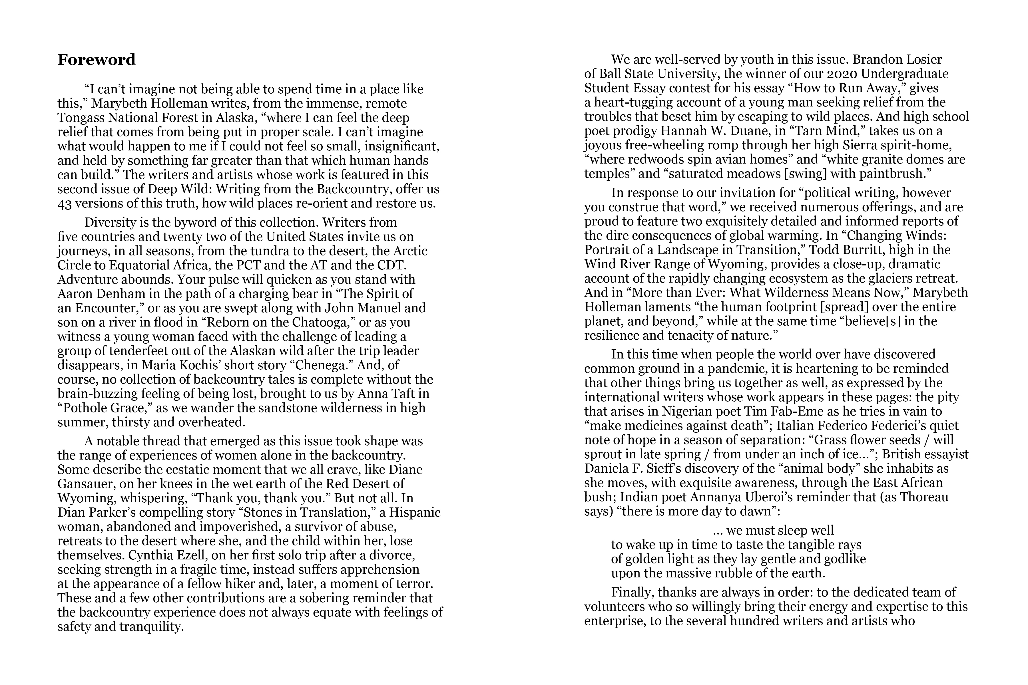DW2 JPEGS Foreword 2 page spread